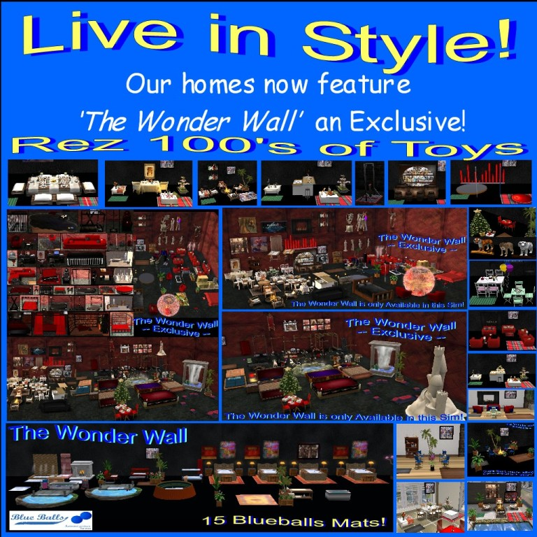 1Our homes now feature The Wonder Wall an Exclusive 3