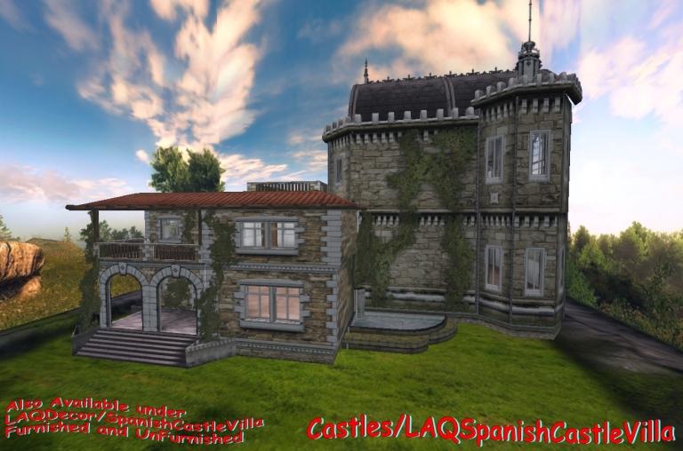 Castles LAQSpanishCastleVilla