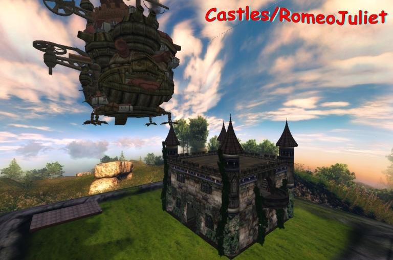 Castles RomeoJuliet