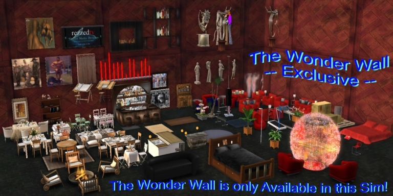 The Wonder Wall is only available in this sim
